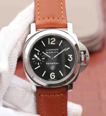 XF PAM005 Brown Leather Strap A6497
