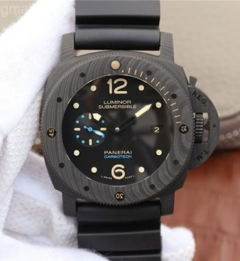 VSF PAM616 Carbotech Rubber Strap P.9000 Super Clone