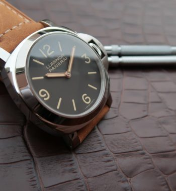 Luminor PAM390 Brown Leather Strap P.5000