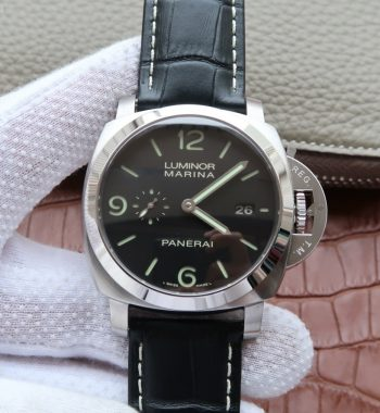 SF PAM312 Black Leather Strap P.9000 Super Clone