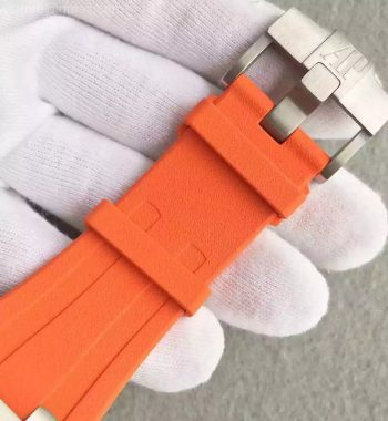 JF Royal Oak Offshore Diver Chronograph Orange Rubber Strap A3126