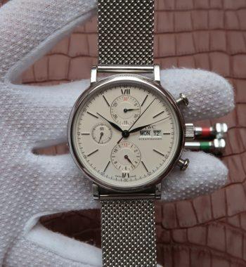 V6 Portofino IW391011 Chronograph White Dial