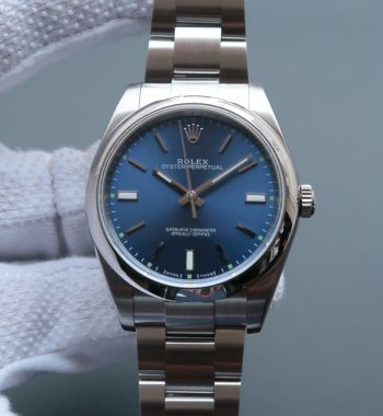 Oyster Perpetual 39mm 114300 Blue Dial on SS Bracelet SH3132
