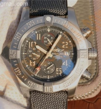 Avenger Bandit Titanium GF Gray Dial Gray Nylon Strap A7750