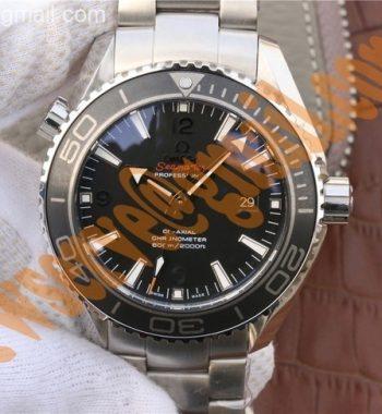 Planet Ocean Professional Ceramic Bezel 45mm OMF SS Bracelet A8500
