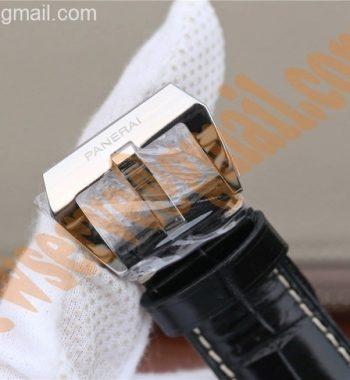 PAM388 Black Dial Leather Strap P.9000 Super Clone
