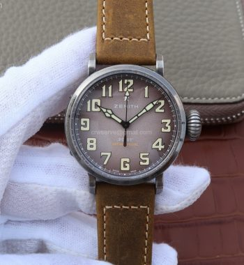 Pilot Type 20 Extra 40mm Aged SS Case Brown V6 MIYOTA 9015
