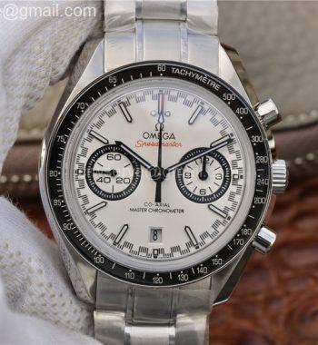 Speedmaster Moonwatch OMF White Dial Black Hand SS Bracelet A9900