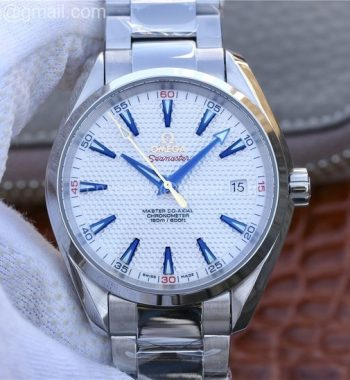 Aqua Terra Master Ryder Cup Edition VSF White Textured Dial SS Bracelet A8500
