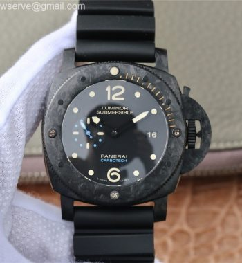 PAM616 Special Edition Forged Carbon XF Edition Rubber Strap P.9000