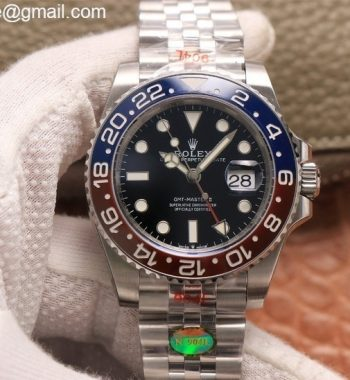 GMT Master II 126710 BLRO Real Ceramic 904L SS Noob Edition Bracelet A3285