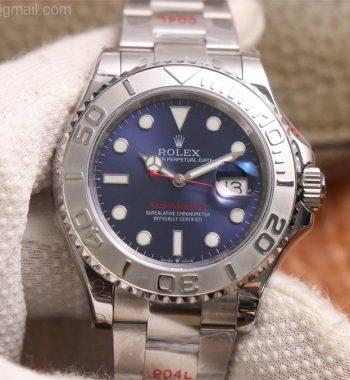 Yacht-Master 126622 GMF Edition 904L Steel Blue Dial SS Bracelet SA3235