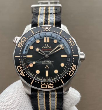 """Seamster 300 """"No Time to Die"""" Limited Edition VSF Edition SS Mesh Bracelet A8806(Free Nato)"""