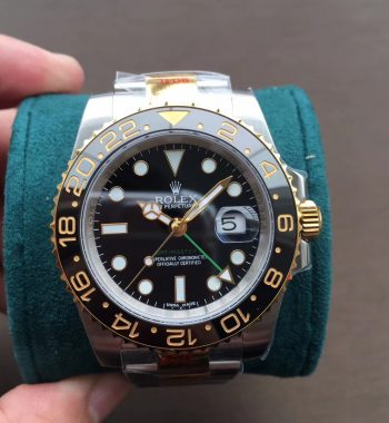 GMT-Master II 116713 LN YG Wrapped 904L Steel GMF Edition A3186