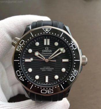 Seamaster Diver 300M Real Ceramic Case VSF Edition Black Rubber Strap A8806 V2