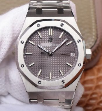 Royal Oak 41mm 15500 SS OMF Edition Gray Textured Dial SS Bracelet MIYOTA 9015
