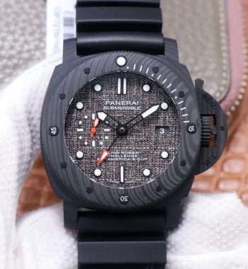 PAM1039 Carbotech VSF Edition Dark Grey Sail Dial Rubber Strap p9010