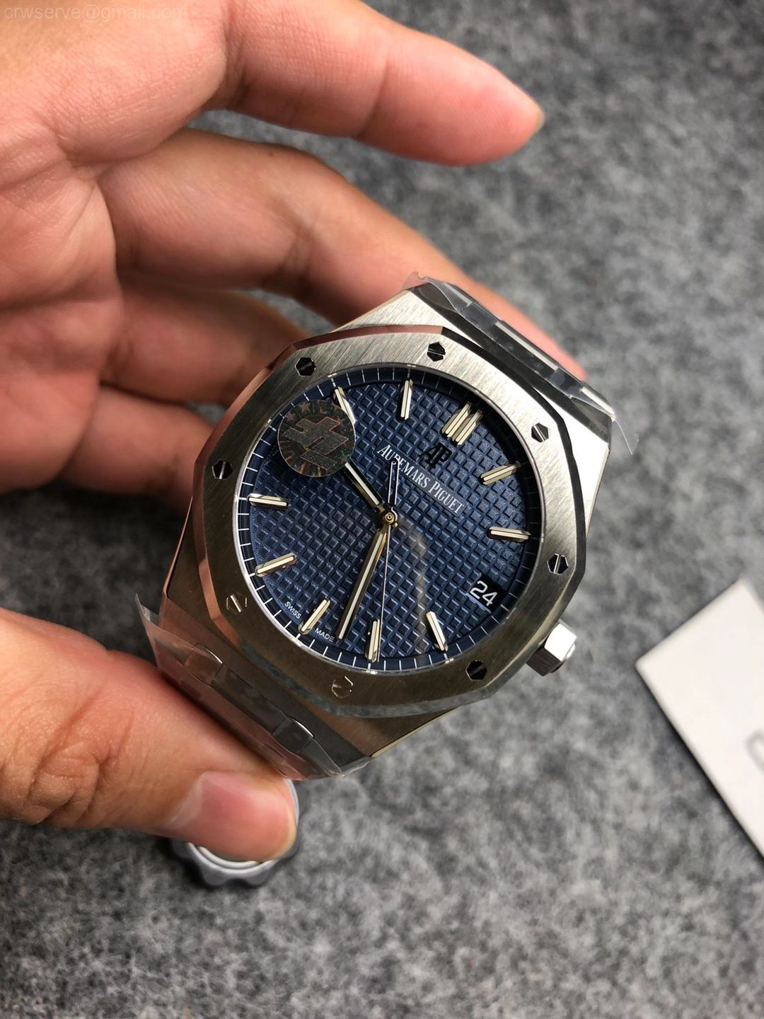 ZF Edition Royal Oak 15500 Blue