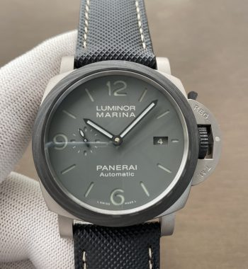 PAM 1662 Satin-polished Ti VSF Edition Black Kevlar Composite Strap P.9010