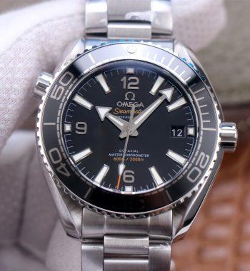 Planet Ocean 39.5mm SS VSF Edition Black Dial SS Bracelet A8800