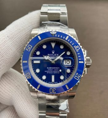 Submariner 116619 LB Blue Ceramic VSF Edition 904l SS Case And Bracelet VS3135