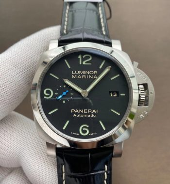 PAM1312 VSF Edition Black Dial Black Leather Strap P.9010 Clone