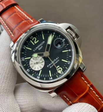 PAM088 Luminor GMT 44mm VSF Edition Brown Leather Strap P.9001 Super Clone