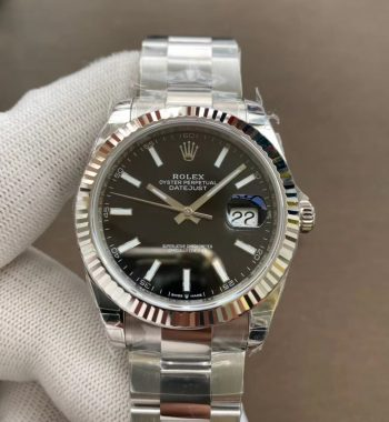 DateJust 41 126334 904L SS VSF 1:1 Best Edition Black Dial
