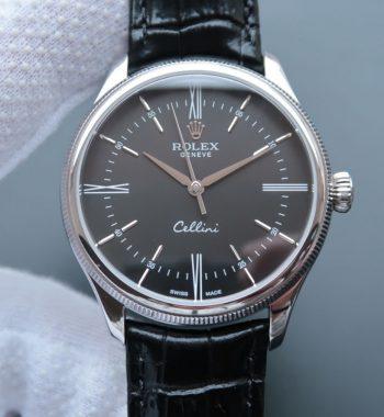 MK Cellini Time 50509 Black Dial Leather Strap A3165