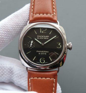 XF Radiomir PAM609 Brown Leather Strap P5000