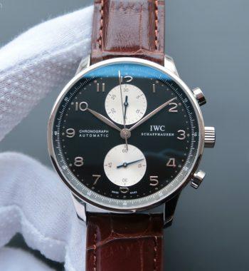 ZF Portuguese Chrono IW371404 Leather Strap