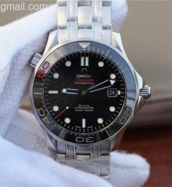 "Seamaster 300M Chronometer SS ""007"" Limited Edition SS Bracelet A2824"