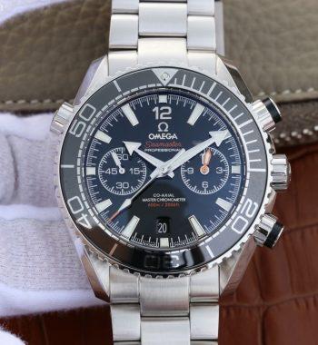 Planet Ocean Master Chronometer OMF Black LiquidMetal SS Bracelet A9900