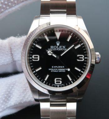 EXPLORER I 214270 39mm Noob Black Dial SS Bracelet A2824