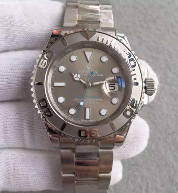 Yacht-Master 116622 Noob Silver Dial SS Bracelet SA3135