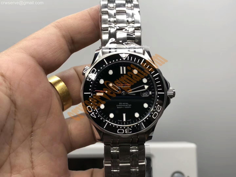 Seamaster 300M Black Dial For Mr Dre