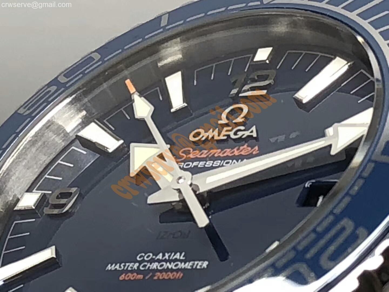Omega seamaster Blue Liquidmetal Bezel