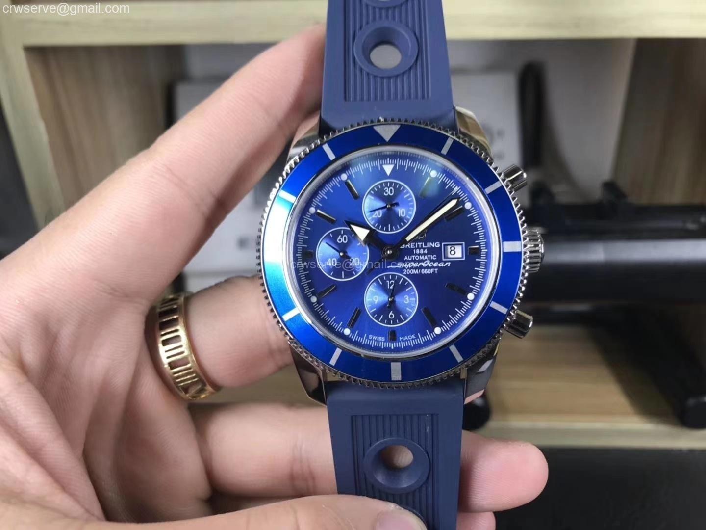 OMF Superocean Heritage ii Chrono 46mm Blue