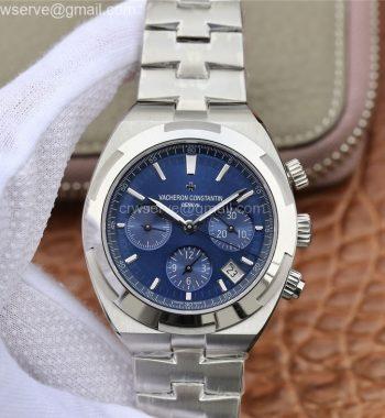 Overseas Chronograph 8F Edition SS Blue Dial SS Bracelet 5200