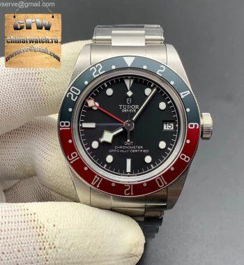 Black Bay GMT Pepsi Blue/Red Bezel ZF SS Bracelet A2836