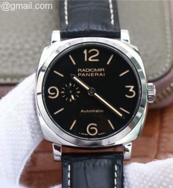 PAM572 Q Radiomir 1940 V9F Edition Black Dial Black Leather Strap P.4000 Super Clone