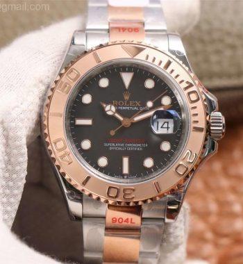 Yacht-Master 126621 SS/RG GMF Edition Black Dial SS/RG Bracelet SA3235