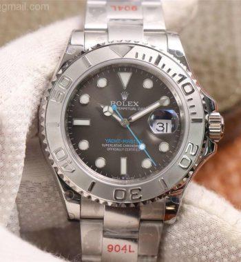 Yacht-Master 126622 GMF Edition 904L Steel Gray Dial SS Bracelet SA3235