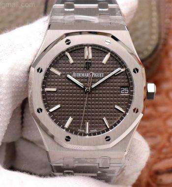 Royal Oak 41mm 15500 SS ZF Edition Gray Textured Dial SS Bracelet A4302
