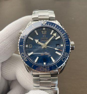 Planet Ocean 43.5mm SS VSF Edition Blue Ceramic Bezel and Dial SS Bracelet A8900