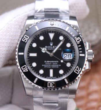 Submariner 116610 ln Black Ceramic VSF Edition 904l SS Case And Bracelet VS3135