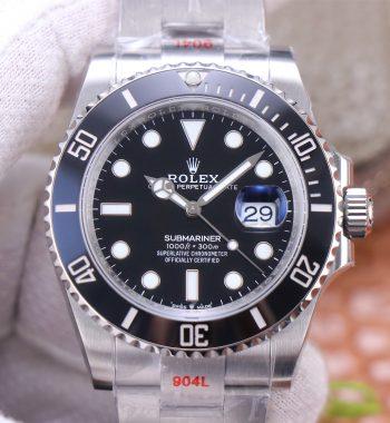 Submariner 41mm 126610 LN 904L Steel 'Green Maker' Edition A2824