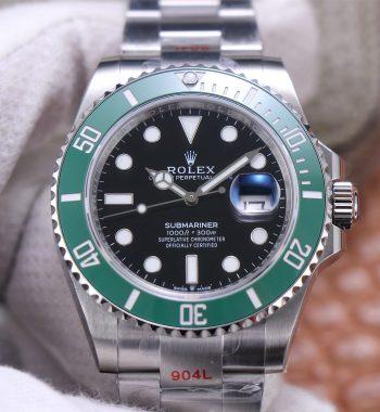 Submariner 41mm 126610 LV EWF Black Dial Kermit 904L Bracelet A3235