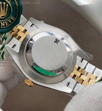 DateJust 41 126333 904L SS/YG VSF White Dial Jubilee Bracelet VS3235