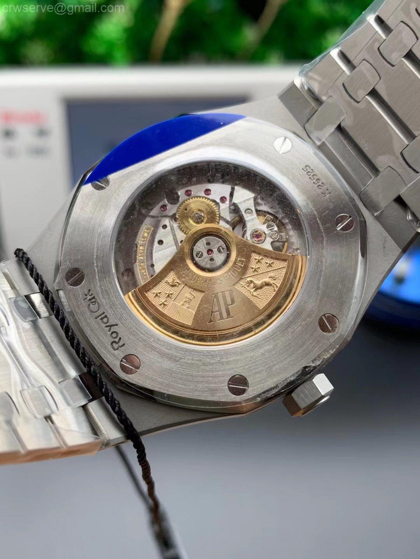 Royal Oak 41mm 15400 SS ZF Edition White Textured Dial SS Bracelet A3120